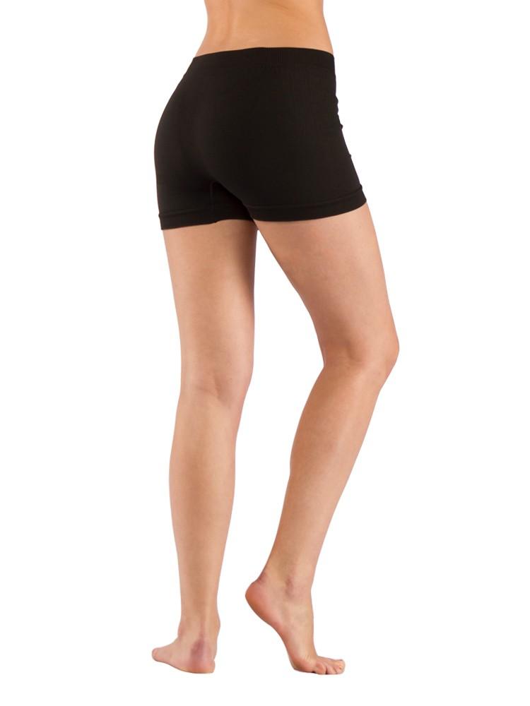 шорты чёрные женские фото
